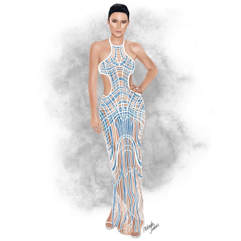 Sublime Cravings Kendall Jenner Met Gala 2016 Versace