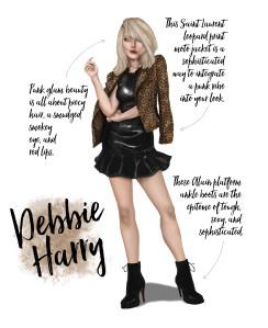 Sublime Cravings - Debbie Harry Party Look Inspo