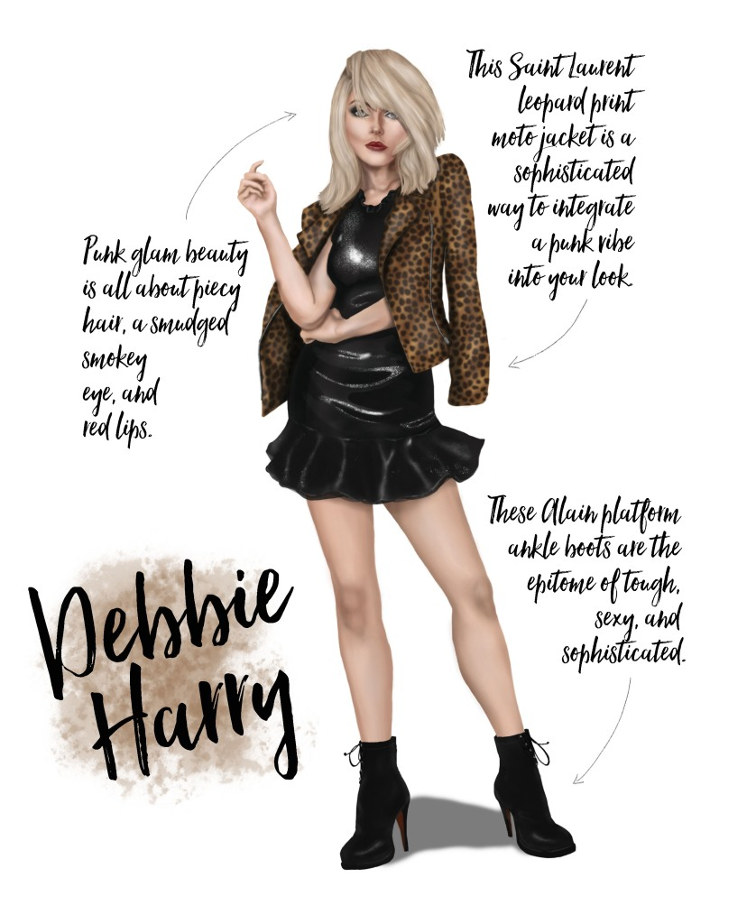 Sublime Cravings - Debbie Harry Party Look Inspo