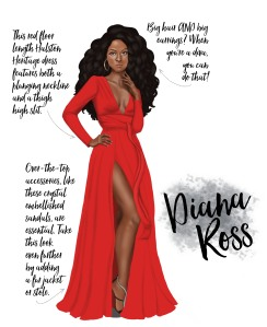 Diana Ross Inspired Party Styling