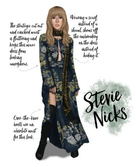 Sublime Cravings - Stevie Nicks Style Inspiration Party Look