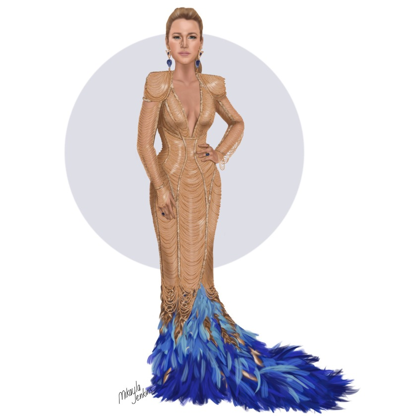 Blake Lively Versace Met Gala 2017