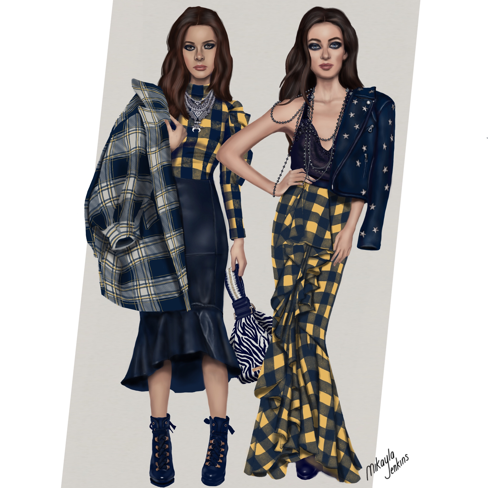 Alice + Olivia Fall 2018 - Sublime Cravings Illustration