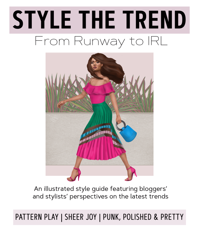 Style the Trend From Runway to Real Life how to mix patterns in outfits
