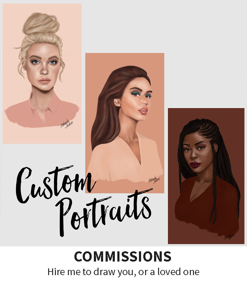 Sublime Cravings Illustration - Custom Portraits Commissions